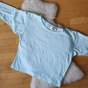 ❤ (3/$20) Vintage 》 Calvin Klein 3/4 sleeve
